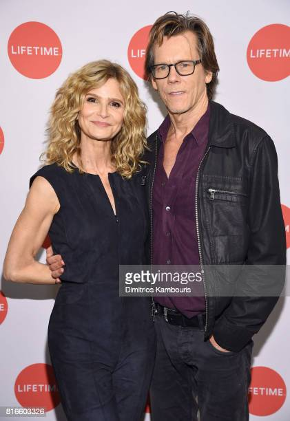 Kyra Sedgwick and Kevin Bacon attend the Story Of A Girl screening at Neuehouse on July 17 2017 in New York City