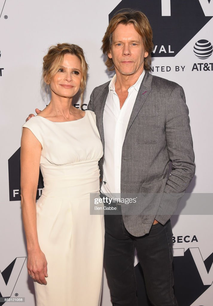 Kyra Sedgwick and Kevin Bacon attend the Tribeca TV Festival series premiere of Ten Days in the Valley at Cinepolis Chelsea on September 24, 2017 in New York City.
