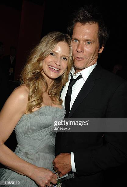 Kyra Sedgwick and Kevin Bacon during 58th Annual Primetime Emmy Awards Governors Ball at The Shrine Auditorium in Los Angeles California United States