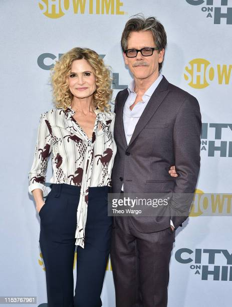 Kyra Sedgwick and Kevin Bacon Showtime's City On A Hill New York Premiere at SVA Theater on June 04 2019 in New York City