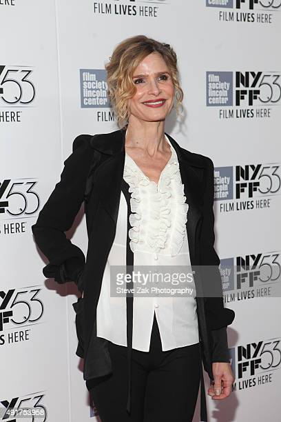 Kyra Sedgwick attends 53rd New York Film Festival 'Brooklyn' premiere at Alice Tully Hall on October 7 2015 in New York City