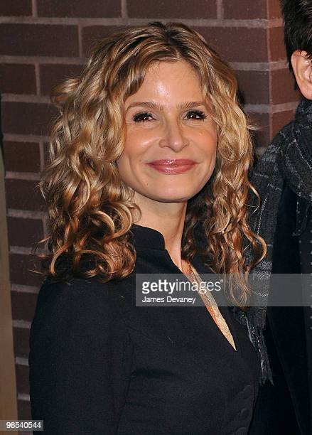 Kyra Sedgwick attends Hermes Men's Store opening on Madison Avenue on February 9, 2010 in New York City.