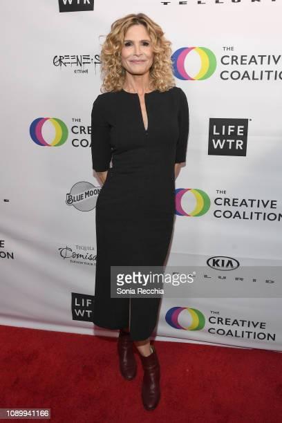 Kyra Sedgwick attends the 2019 Spotlight Initiative Awards Gala Benefit Dinner on January 26 2019 in Park City Utah