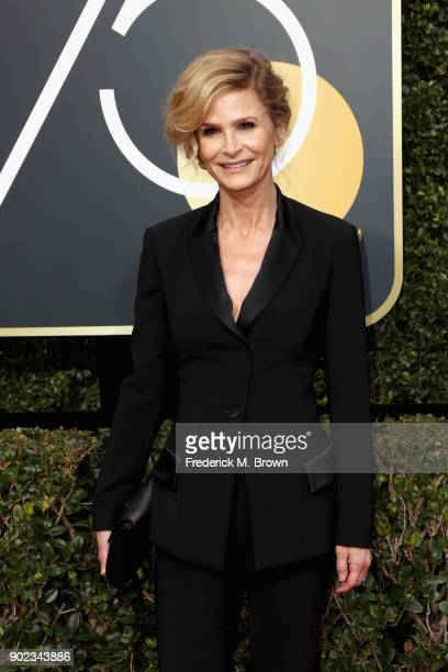 Kyra Sedgwick attends The 75th Annual Golden Globe Awards at The Beverly Hilton Hotel on January 7 2018 in Beverly Hills California