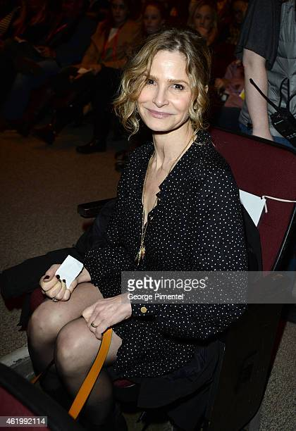 Kyra Sedgwick attends 'The Bronze' Premiere at the Eccles Center Theatre during the 2015 Sundance Film Festival on January 22 2015 in Park City Utah