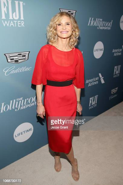 Kyra Sedgwick attends The Hollywood Reporter's Power 100 Women In Entertainment at Milk Studios on December 5 2018 in Los Angeles California