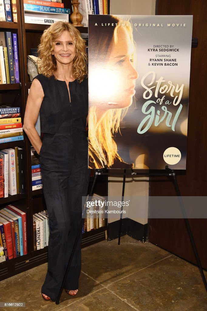 Kyra Sedgwick attends the 'Story Of A Girl' screening at Neuehouse on July 17, 2017 in New York City.