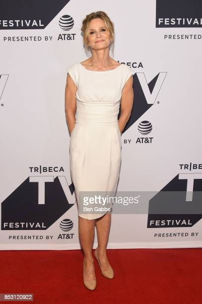 Kyra Sedgwick attends the Tribeca TV Festival series premiere of Ten Days in the Valley at Cinepolis Chelsea on September 24 2017 in New York City
