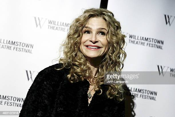 Kyra Sedgwick attends Williamstown Theatre Festival 2015 Benefit at City Winery on February 9 2015 in New York City