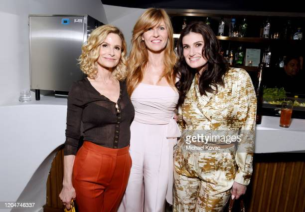 Kyra Sedgwick, Connie Britton and Idina Menzel as Tequila Don Julio Celebrates the 13th Annual Women In Film Oscar Nominees Party at Sunset Room...
