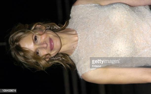Kyra Sedgwick during 3rd Annual Tribeca Film Festival Vanity Fair Party Arrivals at Amex Lobby in New York City New York United States