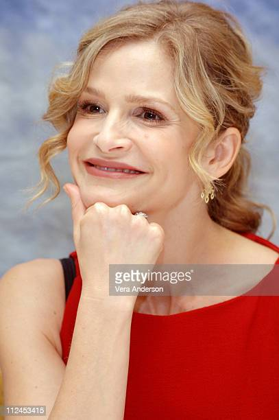 Kyra Sedgwick during The Closer Press Conference with Kyra Sedgwick at Four Seasons in Beverly Hills California United States