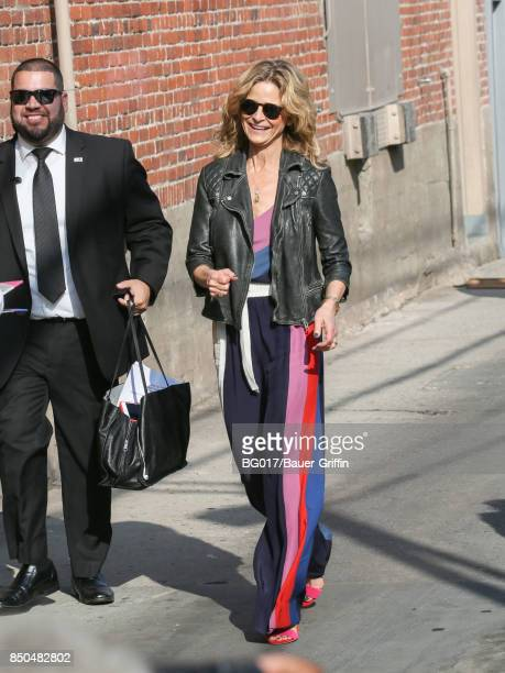 Kyra Sedgwick is seen at 'Jimmy Kimmel Live' on September 20 2017 in Los Angeles California