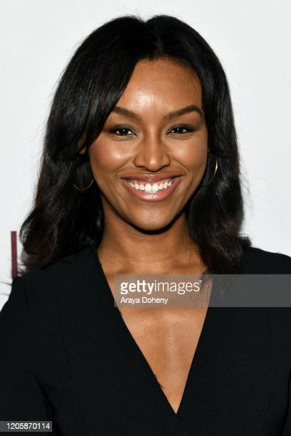 Kyra Weeks attends Passionflix's The Will Los Angeles Premiere on February 12 2020 in Culver City California