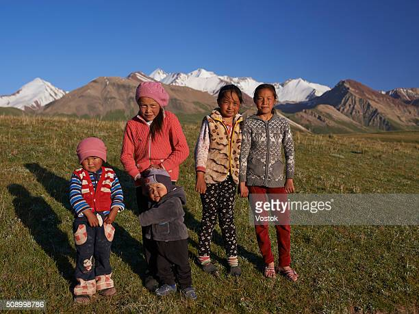Kyrgyz children