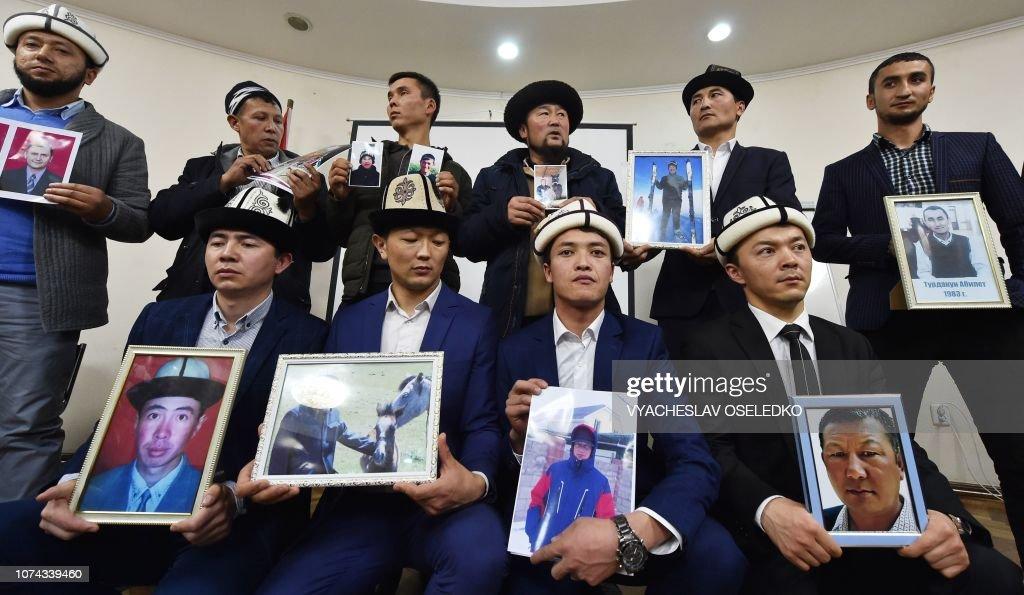 KYRGYZSTAN-CHINA-XINJIANG-RIGHTS-SECURITY : Foto jornalística