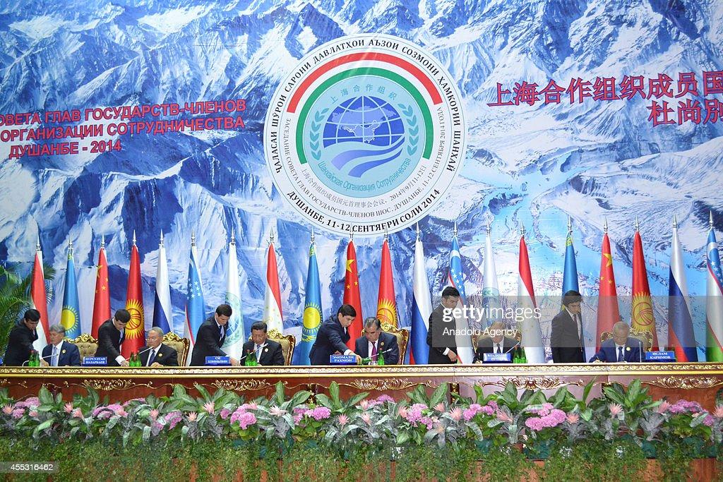 Shanghai Cooperation Organization (SCO) Summit in Tajikistan : News Photo