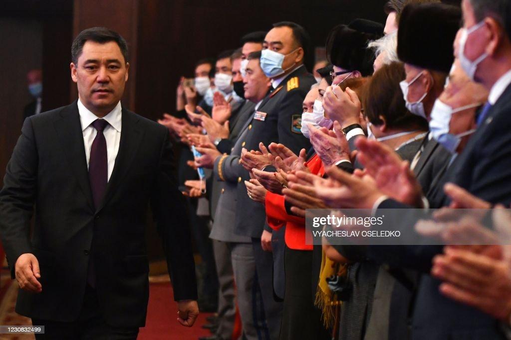 KYRGYZSTAN-POLITICS-PRESIDENT : News Photo