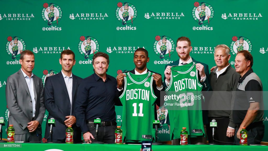 Boston Celtics Introduce Kyrie Irving