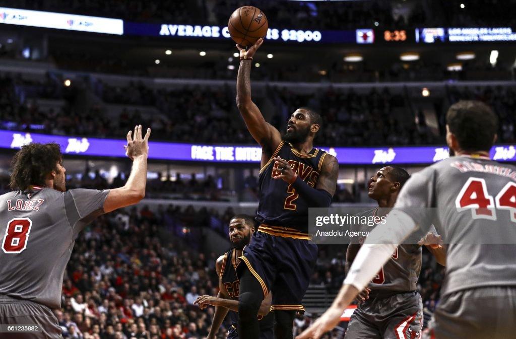 Chicago Bulls vs Cleveland Cavaliers : Nieuwsfoto's