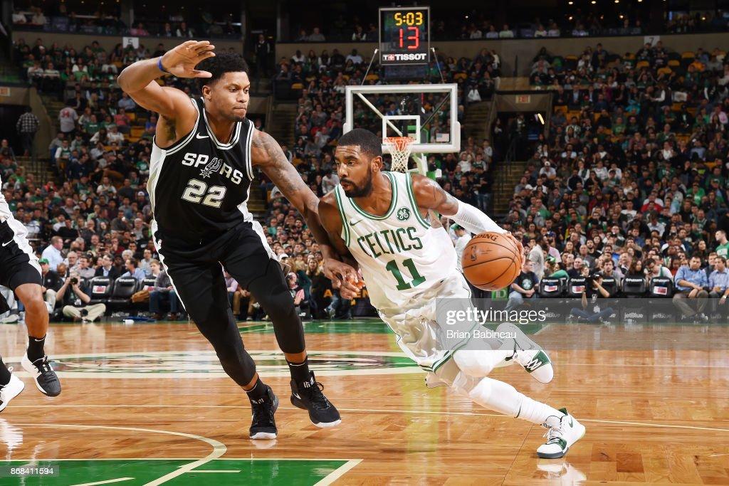 San Antonio Spurs v Boston Celtics : News Photo