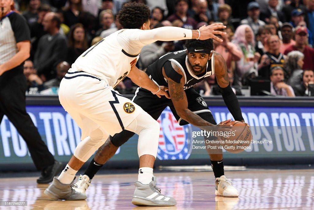 DENVER NUGGETS VS BROOKLYN NETS, NBA REGULAR SEASON : News Photo
