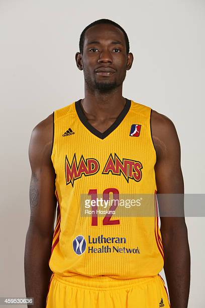Kyrle Sutton of the Fort Wayne Mad Ants poses for a portrait during media day at McMillian Community Center on November 7 2014 in Indianapolis...