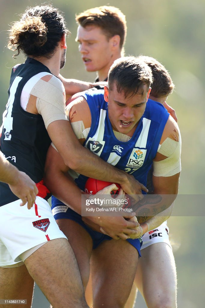 AUS: VFL Rd 3 - North Melbourne v Essendon