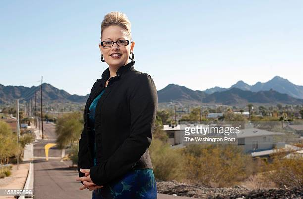 Kyrsten Sinema memberelect of the United States House of Representatives from Arizona's 9th congressional district is photographed in the Sunnyslope...
