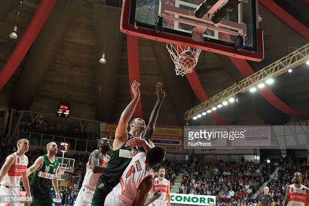 44 Kyrylo Fesenko of Scandone Avellino in action during the Italy Lega Basket of Serie A match between Openjobmetis Varese and Scandone Avellino 7779...
