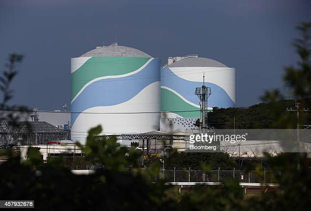 Kyushu Electric Power Co's Sendai Nuclear Power Plant stands in Satsumasendai Kagoshima Prefecture Japan on Monday Oct 27 2014 Japan's operable...