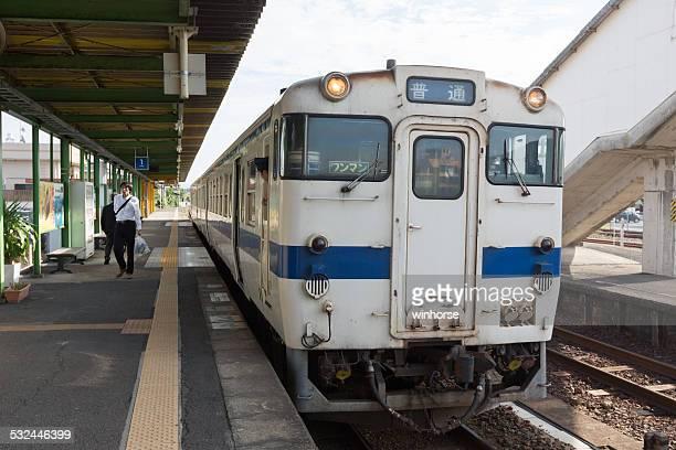 jr 九州 ibusuki 駅である - 指宿市 ストックフォトと画像