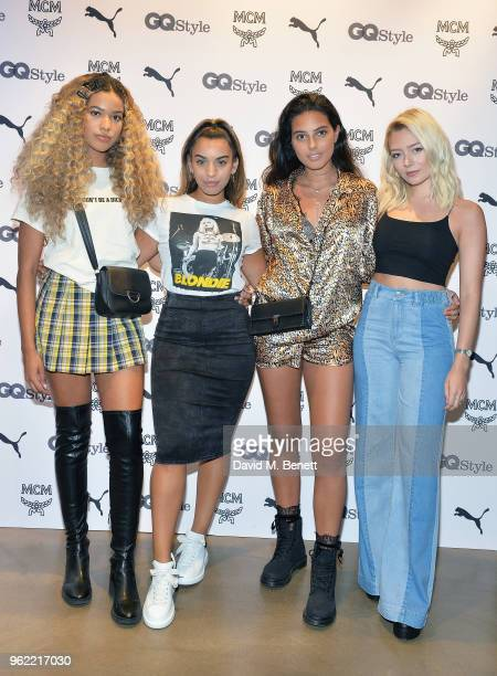 l Four Of Diamonds attends PUMA x MCM Collaboration London Launch Party in partnership with British GQ Style on May 24 2018 in London England