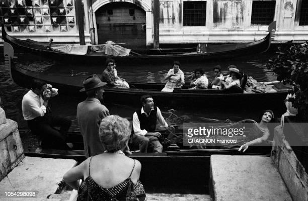 La 22ème Mostra de VENISE se déroule du 20 août au 3 septembre 1961 JeanGabriel ALBICOCCO y présente son film 'La fille aux yeux d'or' avec Marie...