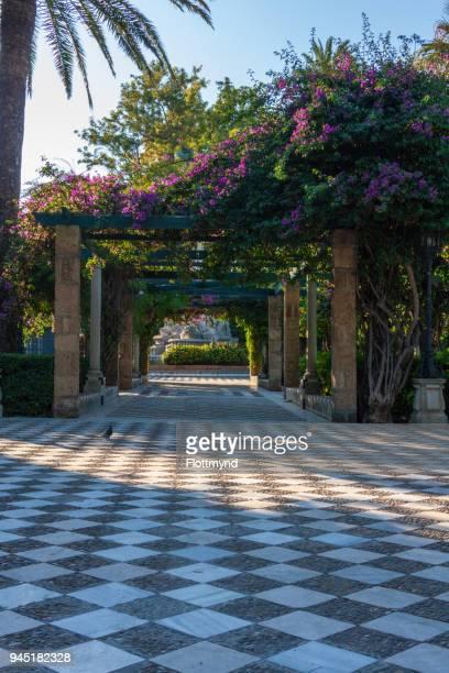 La Alameda, public park near the waterfront, Cadiz, Spain