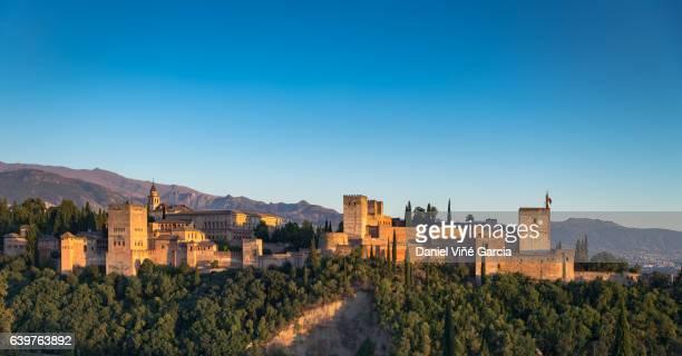 La Alhambra, Granada, Andalusia, Spain