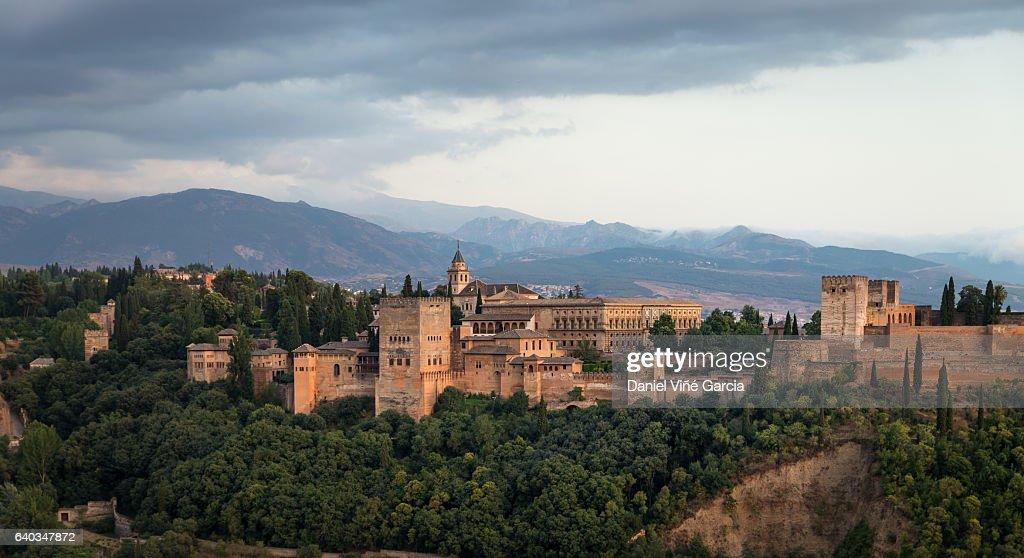 La Alhambra, Granada, Andalusia, Spain : Foto de stock