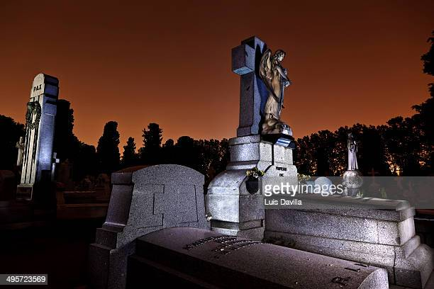 la almudena cemetery,madrid - royal cathedral stock pictures, royalty-free photos & images