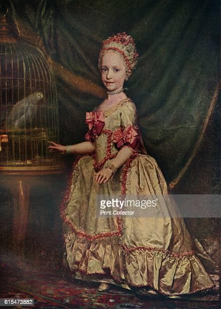 La archiduquesa Maria Teresa de Austria', 1771 . Maria Theresa Walburga Amalia Christina was last descendant of the House of Habsburg to be sovereign...