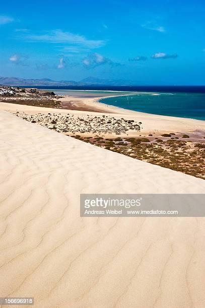 La arena de Jandía - Islas Canarias