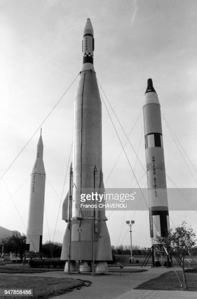 La base de lancement de Cap Canaveral, en août 1991, en Floride, Etats-Unis.