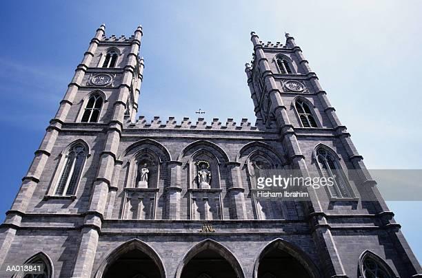 la basilique notre dame - notre dame de montreal stock photos and pictures