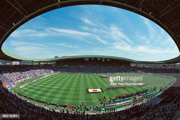 La Baujoire stadium in Nantes during the 1998 Soccer World Cup