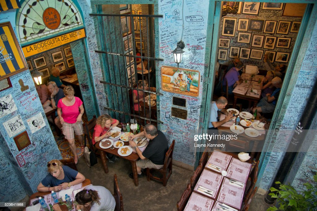 La Bdel M, Old Havana, Cuba : Stock Photo