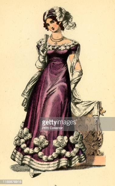 La Belle Assemblee, 1823', 1943. La Belle Assemblee - British women's magazine published 1806-1837, founded by John Bell , best known for its'...