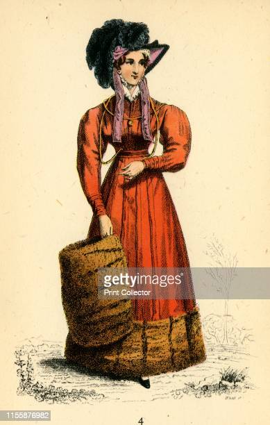La Belle Assemblee, 1824', 1943. La Belle Assemblee - British women's magazine published 1806-1837, founded by John Bell , best known for its'...
