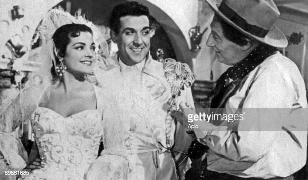 La Belle de Cadix Cadiz La Bella of RaymondBernard with Carmen Sevilla Luis Mariano and Jean Tissier 1953