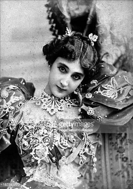 La Belle Otero aka Carolina Otero a Spanish dancer actress and courtesan circa 1890