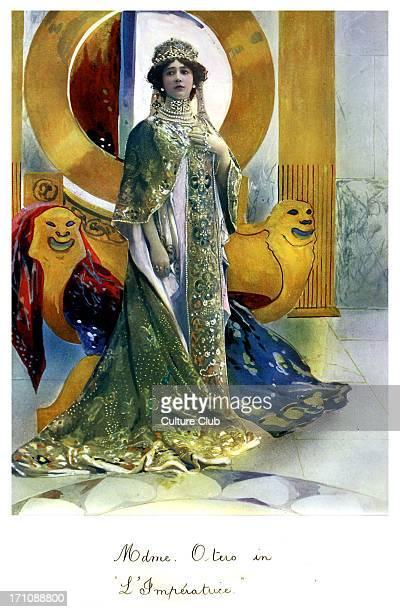'La Belle' Otero in 'L'imperatrice' Paris Olympia 1900 Spanish dancer actress and courtesan