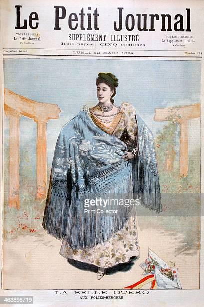 La Belle Otero Spanish born dancer actress and courtesan 1894 Carolina Otero la Belle Otero born Agustina Otero Iglesias The Folies Bergères is a...